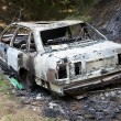 Royalty-Free Stock Photo: Burnt out car