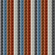 Leather seamless braided plait texture - Stock vektor