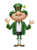 Saint patrick elf leprechaun — Stock Photo
