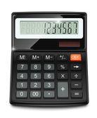 Elektroniska miniräknare — Stockvektor