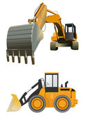 Construction machines — Vetorial Stock