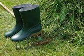 Gardener's tools — Stock Photo