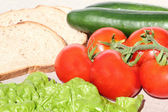 Vegetable composition — Stock Photo