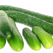 Three sorts of cucumber — Stock Photo