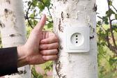Concepto de energía eco — Foto de Stock