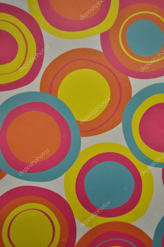 Texture from the colors rounds. — Stock Photo #6824000
