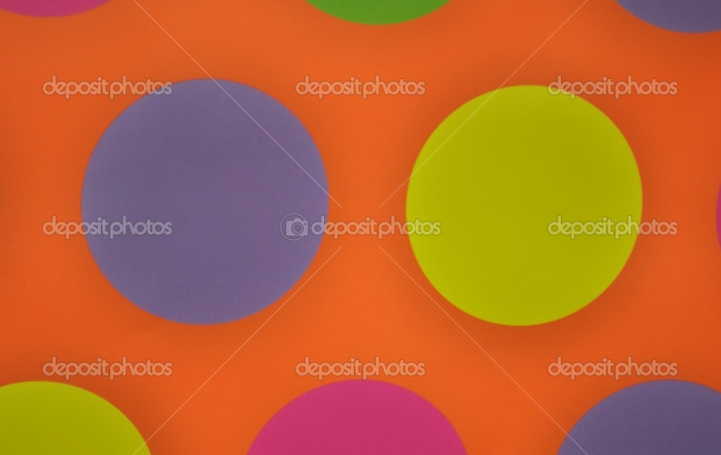 Texture from the colors rounds. — Stock Photo #6824010