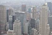 New York.Manhattan.View from Rockfeller Center. — Stock Photo