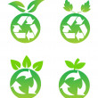 Stock Photo: Environmental conservation symbols