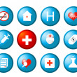 Royalty-Free Stock Photo: Medical icons vector