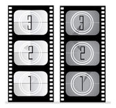 Set of film vector illustration — Stock Photo