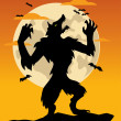 Stock Photo: WereWolf