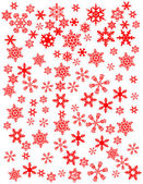 Snowflakes vector illustration — Stock Photo