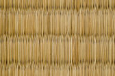 Closeup of a tatami mat — Stock Photo