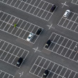 Car park seen from above — Stock Photo #7307710