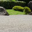 Stock Photo: Stone garden of Zen Buddhism in Japan