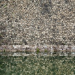 Royalty-Free Stock Photo: Castle fortification wall