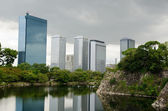 Osaka Business Park — Stock Photo