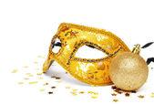 Golden mask — Stock Photo
