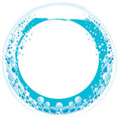 Agua ring.eps — Vector de stock