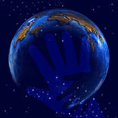 Help world — Stock Photo