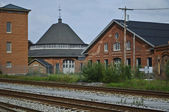 Railroad Buildings — Stock Photo