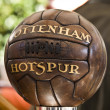 Old tottenham soccer bal — Stock Photo #7352013