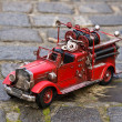 Replica of firetruck — Stock Photo