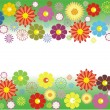 Flower background design — Stock Vector