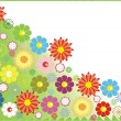 Royalty-Free Stock Vector Image: Flower background design