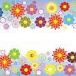 Stock Vector: Flower background design