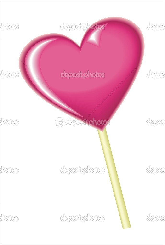 Heart candy  Stock Vector #7392567