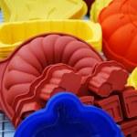 Silicone baking pans — Stock Photo #6769101