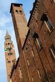 Cathedral tower bell, Cremona — Stock Photo