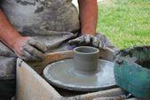 глиняная работа — Стоковое фото