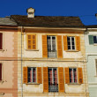 Foto Stock: Colorful houses