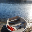 Boat on the dock — Stock Photo