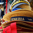 Venice souvenir hats - Stock Photo