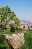 Panorama di Bergamo — Foto Stock