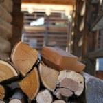Logs of firewood — Stock Photo #6849885