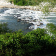 Fast flowing river — Stock Photo