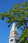 St mark's tower bell, Venedik — Stok fotoğraf