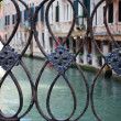 Bridge detail, Venice — Stock Photo