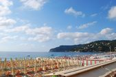 Beach panorama, Italy — Foto de Stock