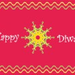 Diwali greetings - Stock Photo