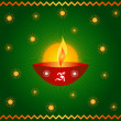 Diwali lamp — Stock Photo #7182828
