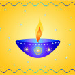 Stock Photo: Diwali lamp