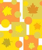 Herbst blätter-muster — Stockfoto