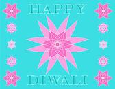 Diwali greetings — Stock Photo