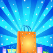 Gift boxes and bag — Stock Photo